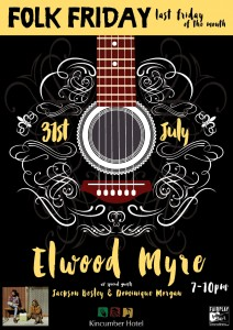 Folk Friday's poster – Elwood Myre