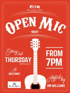 open mic A3 red-01