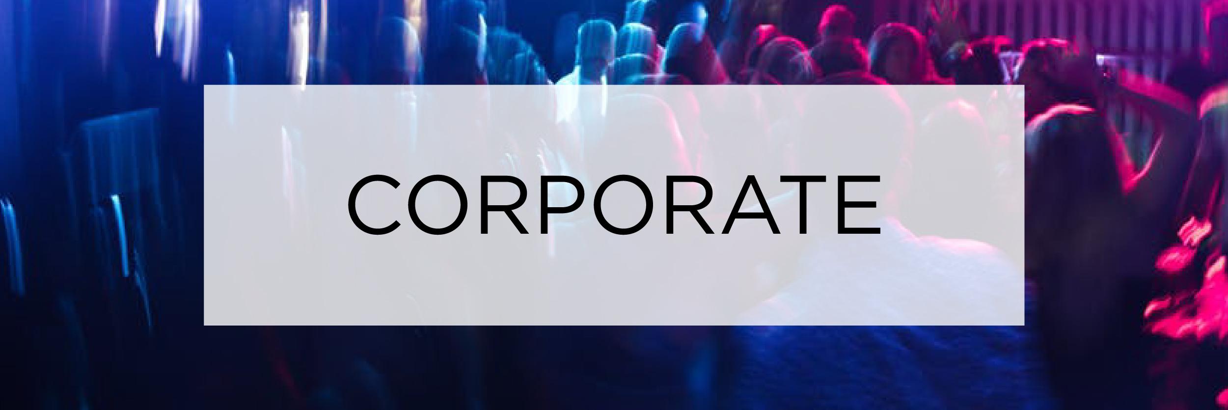 Corporate events entertainment